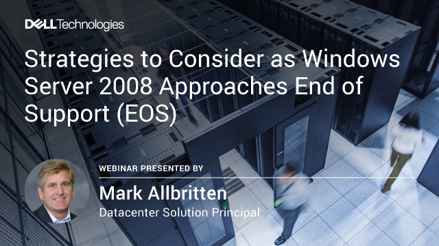Strategies to Consider as Windows Server 2008 Approaches End of Support (EOS)