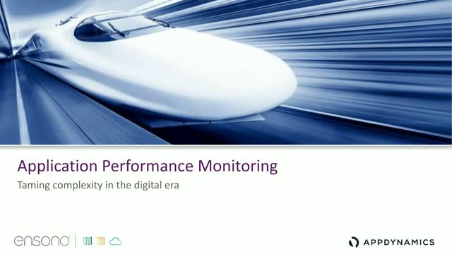 Application Performance Monitoring (APM) – Taming complexity in the digital era