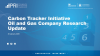Carbon Tracker Initiative Oil and Gas Company Research Update