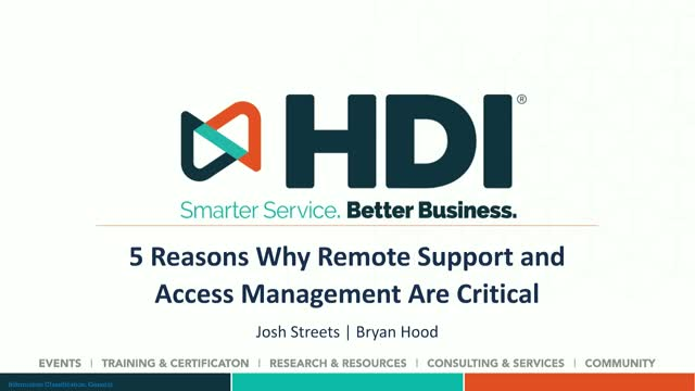 5 Reasons Why Remote Support and Access Management Are Critical