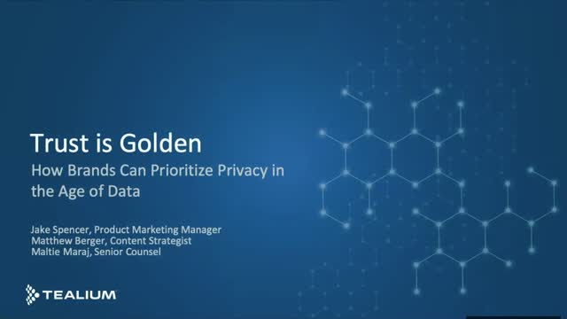 Trust is Golden: How Brands Can Prioritize Privacy in the Age of Data