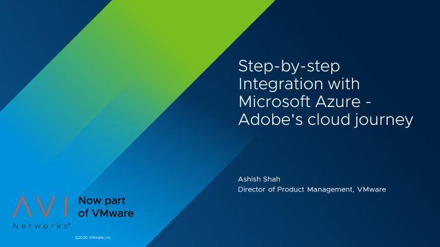 Step-by-step Integration with Microsoft Azure - Adobe's cloud journey