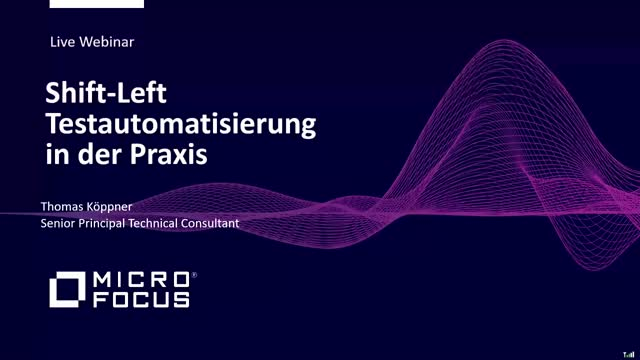 Shift-Left Testautomatisierung in der Praxis