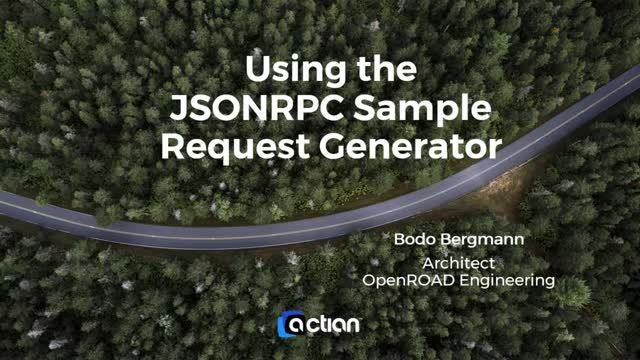 Using the JSON 2.0 RPC Sample Request Generator