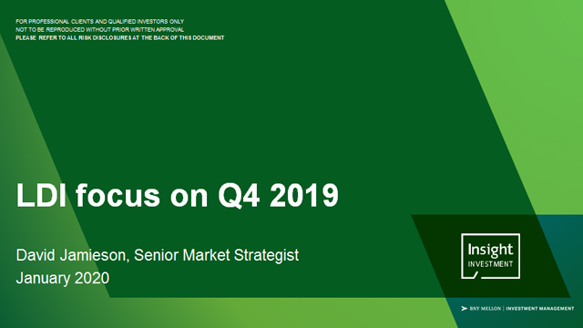LDI review and outlook | January 2020