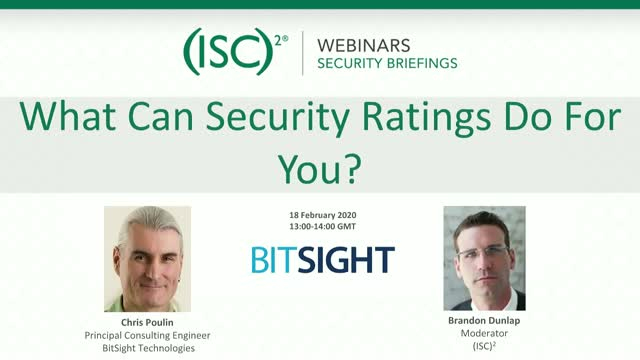 What Can Security Ratings Do For You?