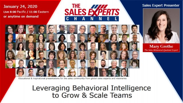 Leveraging Behavioral Intelligence to Grow & Scale Teams