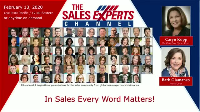 In Sales Every Word Matters!