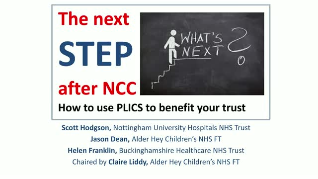 The next step - how to use PLICS to benefit your trust
