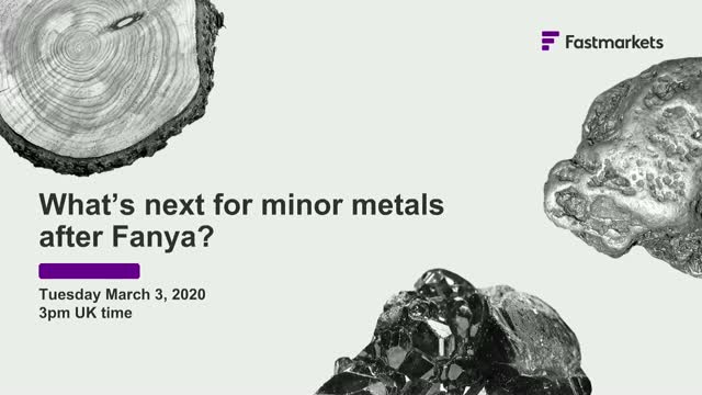 What's next for minor metals after Fanya?