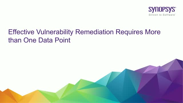 Effective Vulnerability Remediation Requires More than One Data Point