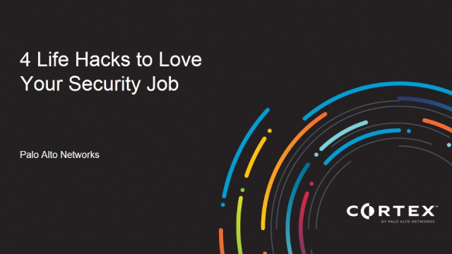 4 Life Hacks to Love Your Security Job (From Elements of Security Operations)