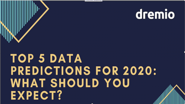 Top 5 Data Predictions for 2020: What Should You Expect?