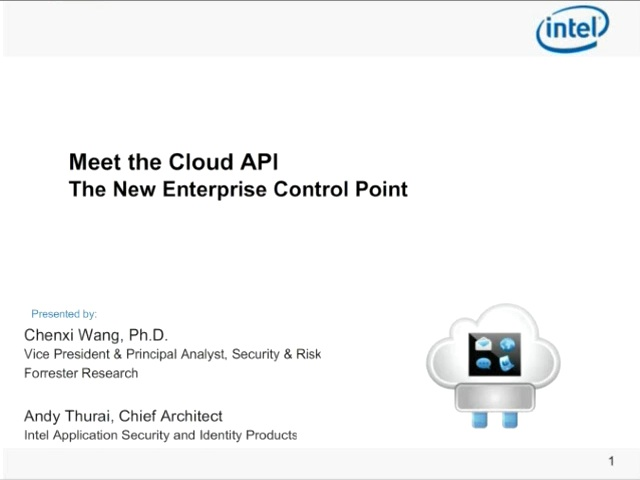 Meet the Cloud API - The New Enterprise Control Point