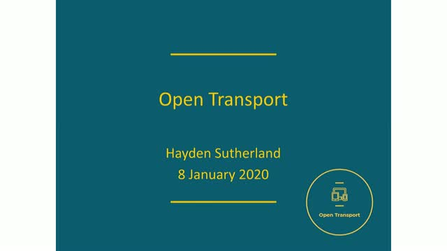 An introduction to the Open Transport Initiative