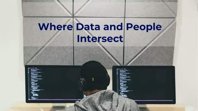 Where Data and People Intersect