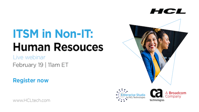 ITSM IN NON-IT USE: HUMAN RESOURCES