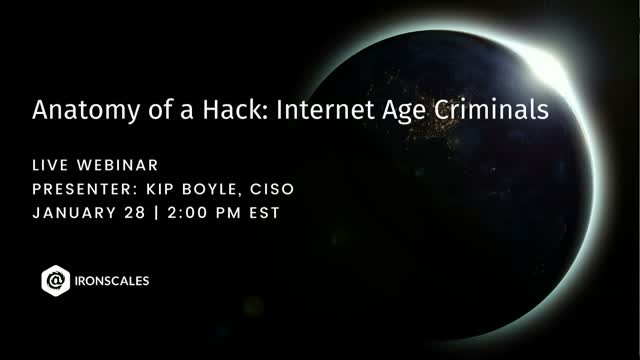 Anatomy of a Hack: Internet Age Criminals