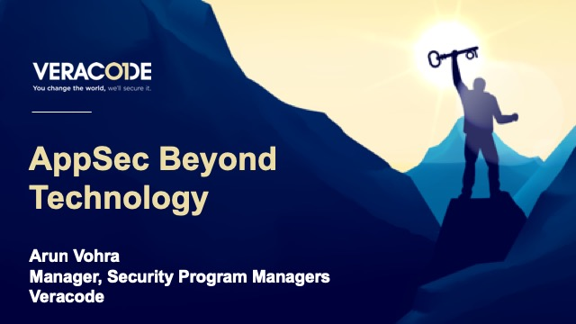 AppSec Beyond Technology