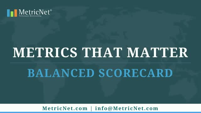 Metrics that Matter: Balanced Scorecard