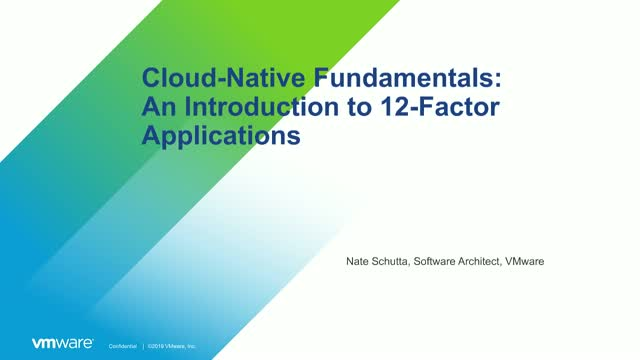 Cloud-Native Fundamentals: An Introduction to 12-Factor Applications
