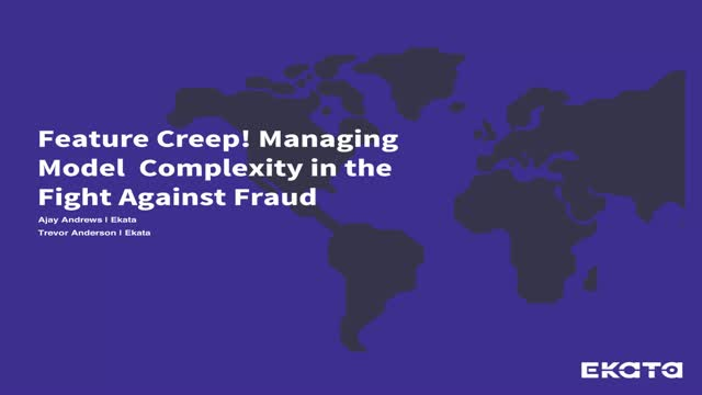 Managing Model Complexity in the Fight Against Fraud