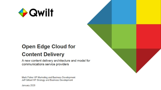 Open Edge Cloud for Content Delivery
