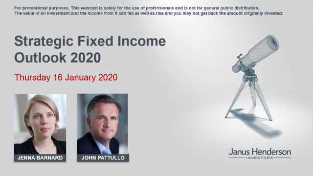 Strategic Fixed Income outlook 2020