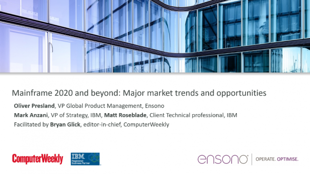Mainframe 2020 and beyond: Major market trends and opportunities