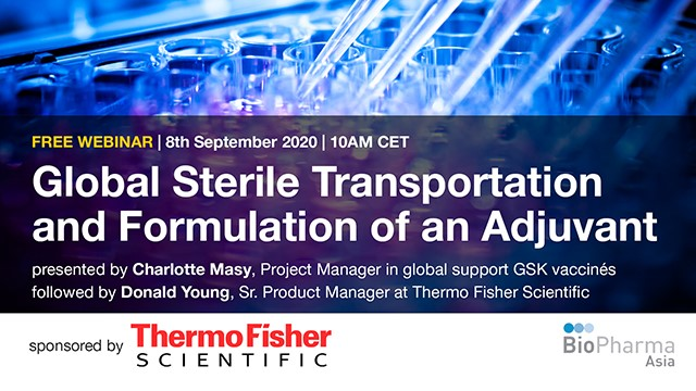 Global Sterile Transportation and Formulation of an Adjuvant