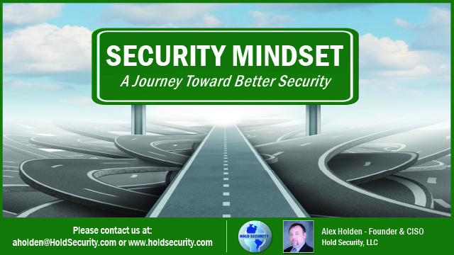 Security Mindset – A Journey Toward Better Security