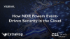 How NDR Powers Event-Driven Security in the Cloud