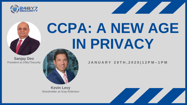 CCPA: A New Age In Privacy