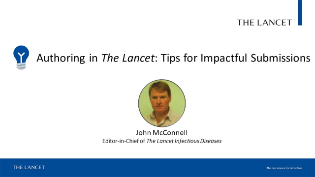 Learn valuable tips for impactful submissions from a Lancet editor!