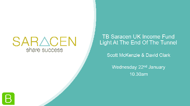 TB Saracen UK Income Fund: Light At The End Of The Tunnel