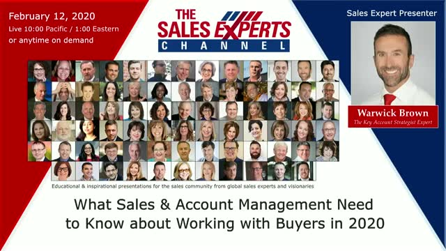 What Sales & Account Management Need to Know about Working with Buyers in 2020