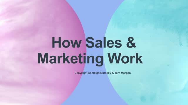 How Sales & Marketing Work Together