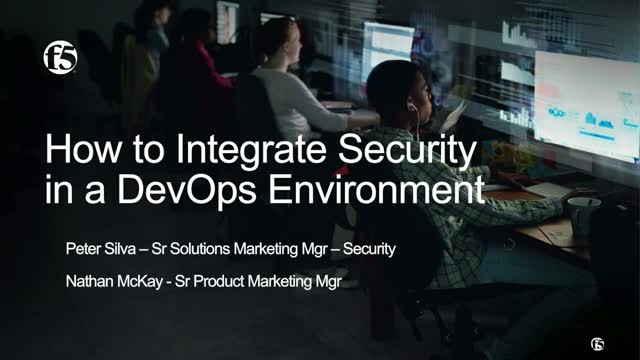 How to Integrate Security in Your DevOps Environment