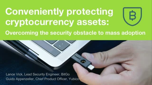 Conveniently Protecting Cryptocurrency Assets