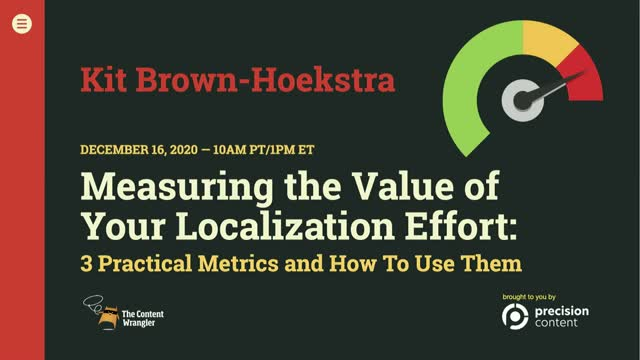 Measuring the Value of Your Localization Effort: 3 Metrics and How To Use Them