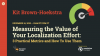 Measuring the Value of 