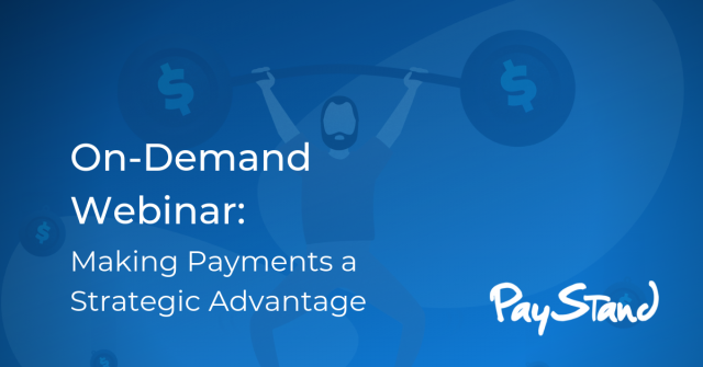Making Payments a Strategic Advantage