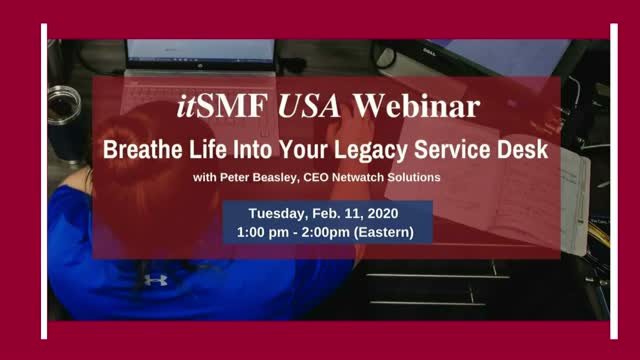 Breathe Life into your Legacy Service Desk