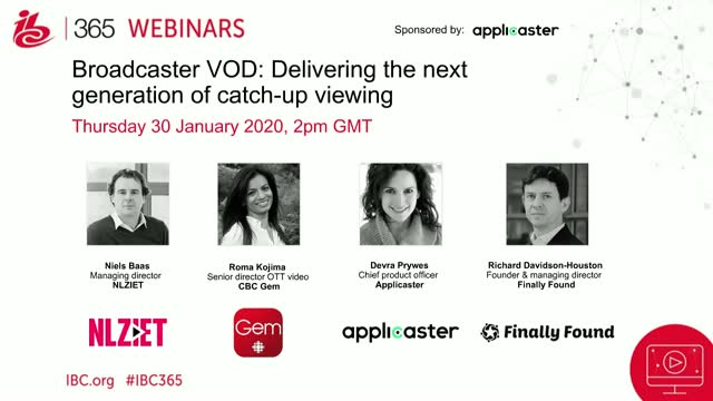 Broadcaster VOD: Delivering the next generation of catch-up viewing