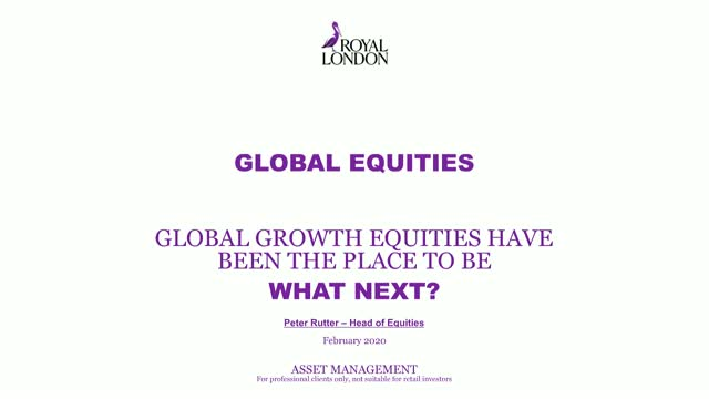 Global growth equities have been the place to be. What next?