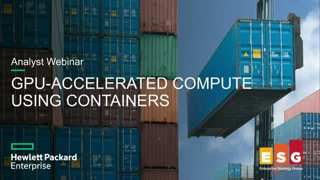 GPU-Accelerated Compute Using Containers