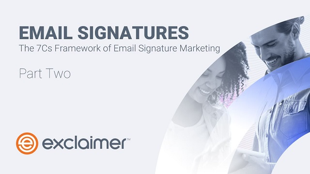 Email Signatures: The 7Cs Framework of Email Signature Marketing (Europe)