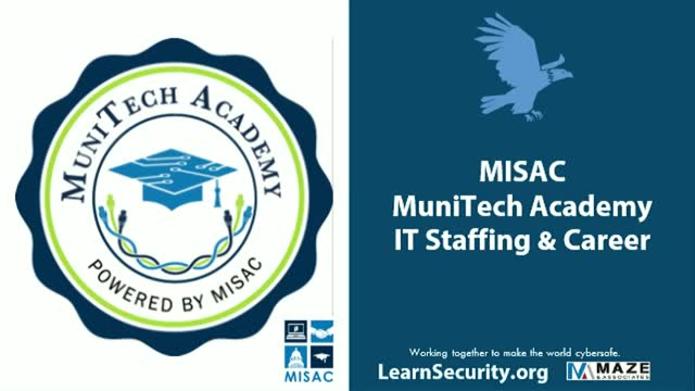 MISAC MuniTech Academy IT Staffing & Career (Part 1)
