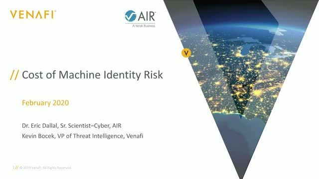 The Cost of Machine Identity Risk