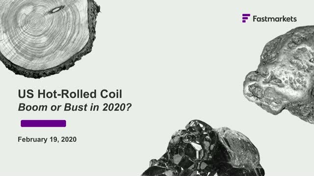 US Hot-Rolled Coil: Boom or bust in 2020?